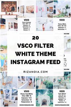 White Instagram Theme, Instagram Themes Vsco, Black And White Instagram, Instagram Apps, Creative Instagram Stories, White Feed Instagram, Instagram Design, Best Instagram Feeds, Best Filters For Instagram
