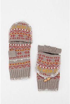 Warm Convertible Gloves... Very Handy