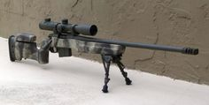 You're not bulletproof..., Custom Remington 700 SPS-V in .308 Winchester....