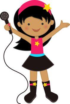 Música - Minus Rock Star Theme, Rock Star Party, Clipart, Felt Dolls, Paper Dolls, Sunday School Decorations, Music Rock, Star Of The Week, School Of Rock