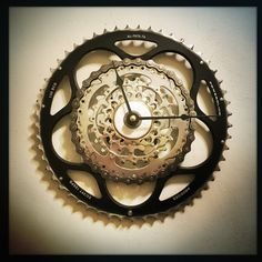 sending this beauty to Italy today. wish I could stow away in the box, but I've got more Bike Gear Wall Clocks to make!