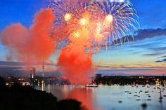 Cherryblossom Festival, Lake Alster - Hamburg