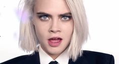 Cara Delevingne in various hair styles! Try these various colors with hair chalk. No commitment. No worry for possible hair damage. Try new hair color every week! For more info, check here => https://www.hairchalk.co/