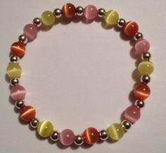 Catseye Beaded Bracelet, $8.00