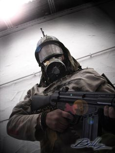Post-Apocalyptic People | Post Apocalyptic Mercenary 03 by ~BaLLz-Graphics on deviantART