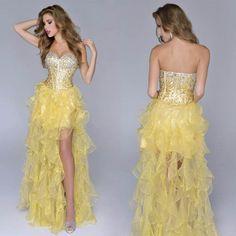 Asymmetric Prom Dresses