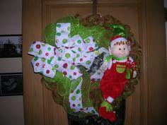 My Caleb/Haywood Wreath $50