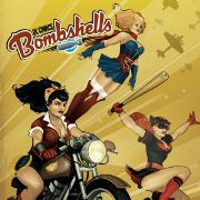 DC Comics DC Comics Bombshells Print Ant Lucia Cover *Description: The ultra-popular statues from DC Collectibles come to life in their own ongoing comic book series! Learn the story behind thi Comic Book Covers, Comic Book Heroes, Comic Books Art, Comic Art, Book Art, Batwoman, Batgirl, Supergirl, Dc Comics