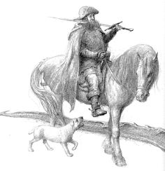 alan_lee_tales from the perilous realm_farmer giles of ham_01.jpg (1546×1600)
