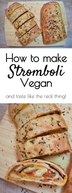 how to make stromboli vegan
