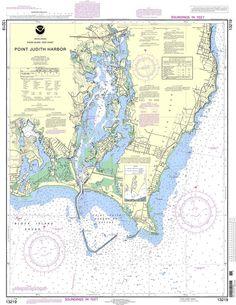 NOAA Nautical Chart 13219: Point Judith Harbor