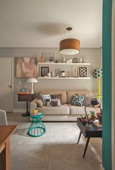 Apartamento pequeno é reformado para ficar acessível