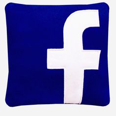 Facebook is hard work, between the friend-ing and poking and tagging and stalking, it doesn't take very long to get all tuckered out. That's where this comfy icon pillow comes in. Now you can take you