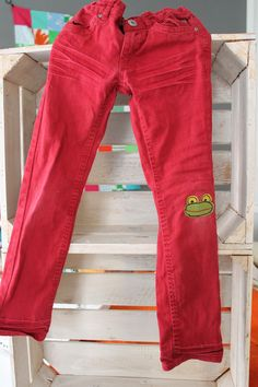 Patches for kids pants - so cute!