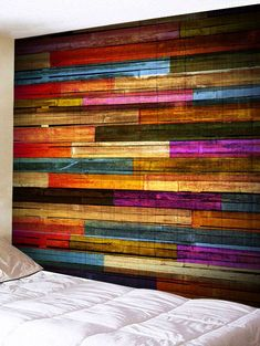 2020 Tapestry Best Online For Sale Cheap Wall Tapestries, Wall Tapestry, Porche, Wood Planks, Dorm Decorations, Wood Grain, Painting On Wood, Wood Wall, Pallets