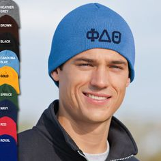 Fraternity Knit Cap #Greek #Fraternity #Clothing