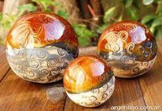 Resultado de imagen para esferas de ceramica decoracion