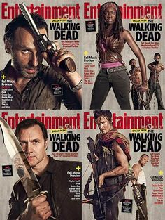 The Walking Dead Season 3 Magazine Covers Debut on http://www.shockya.com/news