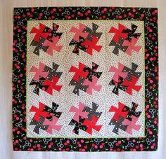 Twister Quilt - great layout  http://firstlightdesigns.com/?s=twister