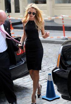 The perfect little black dress..