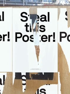 """""""Steal this Poster"""" by Neaubau Berlin"""
