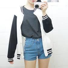 Resultado de imagem para looks coreanos femininos