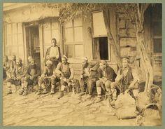 Kahvehane Sébah & Joaillier 1880-1900 LOC Arşivi