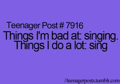 Teenager post absolutely!!!
