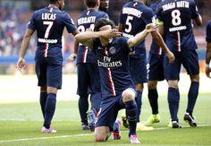 Edinson Cavani (PSG) - Paris Saint-Germain 2-0 Bastia - Ligue 1 2014/2015