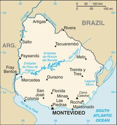 Paraguay I was born in Pdte Franco dont show in the map but is