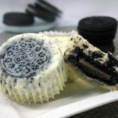 Cream cheesecake cupcakes! by Dzi