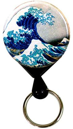 $11.99 Henry the Buttonsmith Hokusai Great Wave Deluxe Retractable Heavy Duty Key Reel With Belt Clip and 24 inch Heavy Duty Cord - Made in the USA, 1 Year Warranty Henry the Buttonsmith http://www.amazon.com/dp/B00O5KXY7M/ref=cm_sw_r_pi_dp_IDlBwb1ZKZQ13