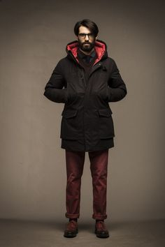 Woolrich John Rich & Bros.: Color Report - Burgundy x Oxblood.