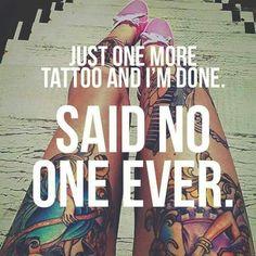 So true. Myrtle Beach and tattoos Tattoo Memes, Funny Tattoos, Time Tattoos, Body Art Tattoos, New Tattoos, Cool Tattoos, Tatoos, Tattoo Sayings, Random Tattoos