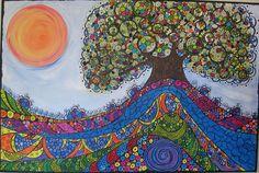 """TREE OF HOPE"" Breast Cancer Survivor Tree SOLD | Flickr - Photo Sharing!"