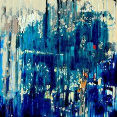 "Saatchi Online Artist: Krzysztof Ryfa; Acrylic 2013 Painting ""Summer Impressions"""