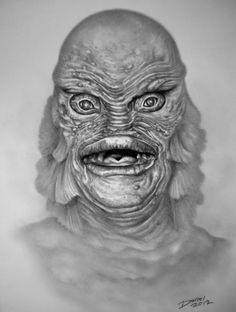 Creature From The Black Lagoon - By Darrel, 2012