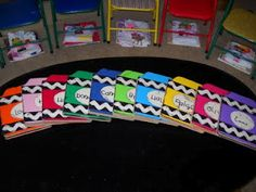 """Graduation Gift from the Teacher: A """"Crayon"""" accordion-file portfolio, complete with diploma, class picture and autograph page!"""
