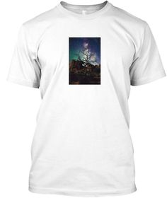 Cosmic Stuffs 1 White T-Shirt Front