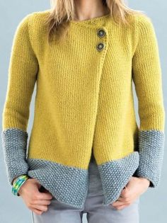 Les femmes casual patchwork irrégulière pulls cardigans. Sweater Coats, Knit Cardigan, Sweaters, Winter Cardigan, Maxi Dress With Sleeves, Cardigans For Women, Long Sleeve Sweater, Types Of Sleeves, Knitting Patterns