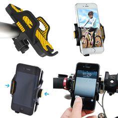 Universal MTB Motorcycle Handlebar Bike Bicycle Mount Holder for Cell Phone GPS