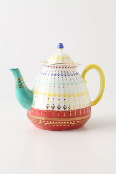 teapots · Miss Moss tea time What's My Favorite Color, Cute Teapot, Teapots Unique, Miss Moss, Teapots And Cups, Teacups, Tea Cozy, Chocolate Pots, Tea Time