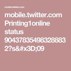 mobile.twitter.com Printing1online status 904378354983288832?s=09