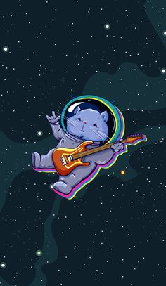 The astro Cat meow meow