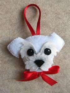 Felt Dog Ornaments - Bing Images