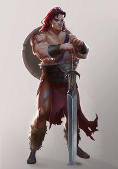 Barbarian by T-razz on deviantART