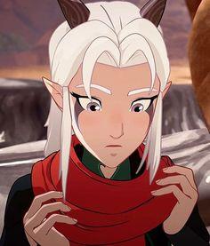 Rayla Dragon Prince, Prince Dragon, Dragon Princess, Princess Zelda, Dragon Prince Season 3, Rayla X Callum, Old Shows, Baby Dragon, Cartoon Tv