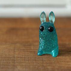 Aqua Glitter Pipsqueak *LIMIT ONE* – Dust Bunnies Shop