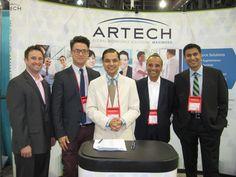 The Artech Team at the WBENC Business Fair.
