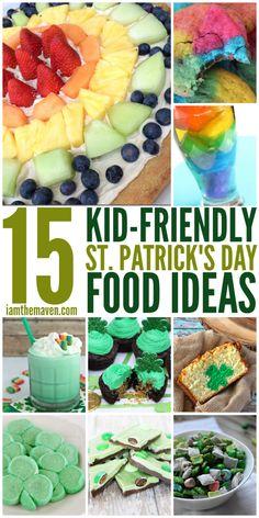 Kid Friendly St. Patrick's Day Food Ideas - I am the Maven®